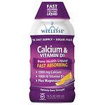 Wellesse Calcium & Vitamin D3, Citrus- 16 fl oz
