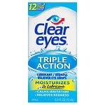 Clear eyes Triple Action Relief- .5 fl oz
