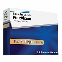 PureVision for Astigmatism Contact Lens- 6 lenses per Box