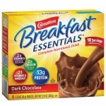 Carnation Breakfast Essentials Complete Nutritional Drink, Packets, Dark Chocolate- 10 ea