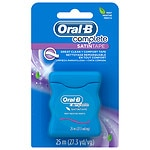Oral-B Complete Satin Tape Floss, Mint- 27.3 yd