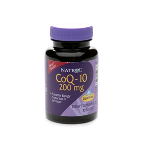 Natrol CoQ-10, 200mg, Softgels- 45 ea