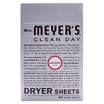 Mrs. Meyer's Clean Day Dryer Sheets, Lavender