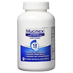 Mucinex Expectorant, 600mg, Extended-Release Bi-Layer Tablets