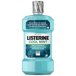 LISTERINE Antiseptic Mouthwash, Mint- 16.9 oz