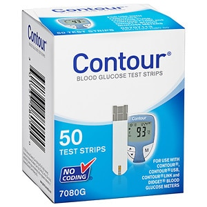 CONTOUR Blood Glucose Test Strips- 50 ea