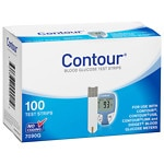 CONTOUR Blood Glucose Test Strips- 100 ea