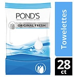 POND'S Wet Cleansing Towelettes, Original Fresh