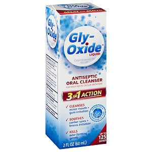 Gly-Oxide Liquid Antiseptic Oral Cleanser- 2 fl oz