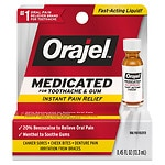 Orajel Maximum Strength, Liquid- .45 fl oz