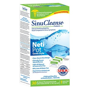 SinuCleanse Neti Pot All Natural Nasal Wash System- 1 ea