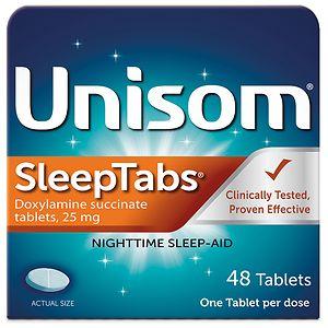 Unisom SleepTabs, Nighttime Sleep-Aid Tablets- 48 ea
