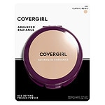 CoverGirl Advanced Radiance Age-Defying Pressed Powder, Classic Beige 115