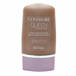 CoverGirl Queen Collection Oil-Free Moisturizing Make Up, Golden Honey Q725