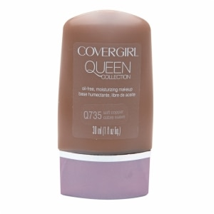 CoverGirl Queen Collection Oil-Free Moisturizing Make Up, Soft Copper Q735