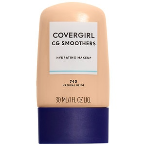 CoverGirl Smoothers Liquid Foundation, Natural Beige 740, 1 fl oz