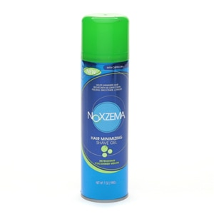 Noxzema Shaving Hair Minimizing Shave Gel, Refreshing Cucumber Melon- 7 oz