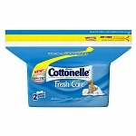 Cottonelle Flushable Moist Wipes Pop Up Refill, Fresh