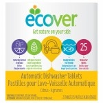 Ecover Natural Automatic Dishwashing Tablets, Citrus- 25 ea