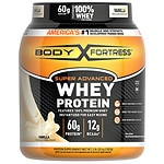 Body Fortress Super Advanced Whey Protein Powder, Vanilla- 31.2 oz