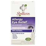 Similasan Allergy Eye Relief Single-Use Sterile Eye Drops (20 Sterile Single Use Droppers)