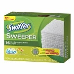 Swiffer Sweeper Dry Sweeping Cloths with Febreze, Sweet Citrus & Zest