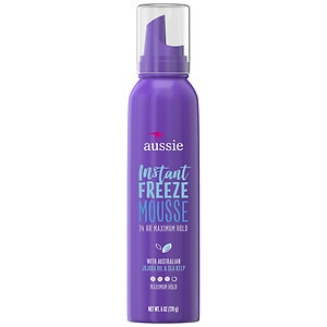 Aussie Instant Freeze Hair Mousse Maximum Hold