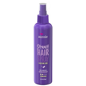 Aussie Catch the Wave Sprunch Hair Spray, Strong Hold