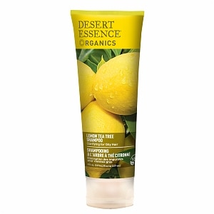 Desert Essence Shampoo for Oily Hair, Lemon Tea Tree