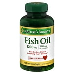 Nature's Bounty Fish Oil, 1200mg, Softgels