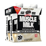 CytoSport Muscle Milk Nutritional Protein Shake, 11 oz Cartons, 4 pk, Cookies N Creme- 11 oz