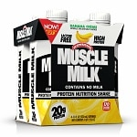 CytoSport Muscle Milk Protein Shake, 11 oz Cartons, 4 pk, Banana
