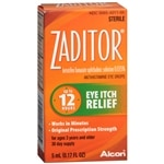 Zaditor Antihistamine Eye Drops- .17 fl oz