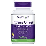 Natrol Extreme Omega Softgels Lemon Flavor 60s- 60 ea