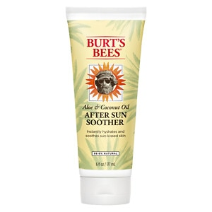 Burt's Bees Aloe & Linden Flower After Sun Soother,- 6 fl oz