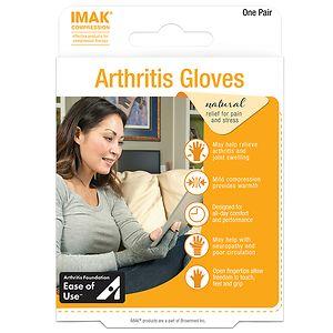 IMAK Arthritis Gloves, Small- 1 ea