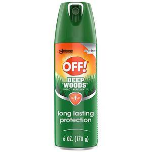 Deep Woods Off! Deep Woods Insect Repellent V, 25% DEET
