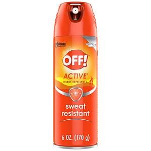 Off! Insect Repellent II, Aerosol, 15% DEET- 6 oz