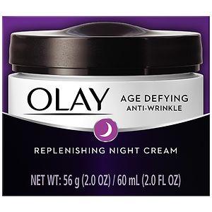 Olay Age Defying Anti-Wrinkle Night Face Cream- 2 oz