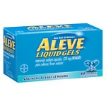 Aleve All Day Strong Pain Reliever, Fever Reducer, Liquid Gels- 80 ea