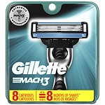Gillette MACH3 Razor Refill Cartridges- 8 ea