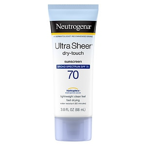 Neutrogena Ultra Sheer Dry-Touch Sunscreen, SPF 70- 3 oz