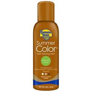 Banana Boat Sunless Summer Color Self-Tanning Mist- 5 oz