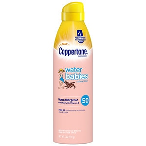 Coppertone Water Babies Lotion Spray SPF 50- 6 fl oz