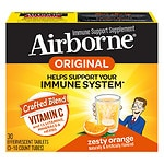 Airborne Effervescent Tablets, Triple Pack, Zesty Orange