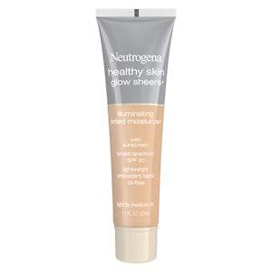 Neutrogena Healthy Skin Glow Sheers Illuminating Tinted Moisturizer with Sunscreen SPF 30, Light to Medium 30