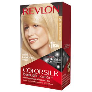 Revlon Colorsilk Beautiful Color, Ultra Light Natural Blonde 04- 1 ea