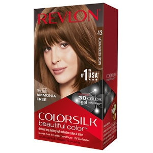 Revlon Colorsilk Beautiful Color, Medium Golden Brown 43- 1 ea