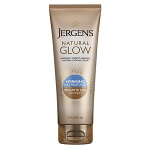 Jergens Natural Glow Firming Daily Moisturizer, Medium to Tan Skin Tone