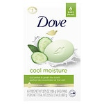 Dove go fresh Beauty Bar, Cucumber & Green Tea, 6 pk